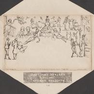 GB 1840. Caricature Originale De Mulready, Southgate. Pickpocket, Pendu, Crise Cardiaque, Vin, Thé, Voleur, Voiliers - Post