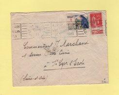 Type Paix - Bande Pub Champagne Moet Et Chandon - Vignette Tuberculose - Paris - 1935 - 1921-1960: Modern Tijdperk
