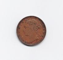 Queen Victoria Straits Settlements Half Cent 1889 Bronze - Colonies