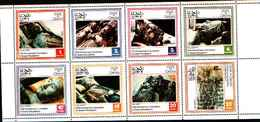90500)  OMAN-25° ANN.INCORONAZIONE DELA REGINA ELISABETTA II -MNH** SERIE  DENTELLATA - Briefmarken