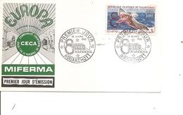 Idées Européennes - CECA -Miferma ( FDC De Mauritanie De 1962 à Voir) - European Ideas