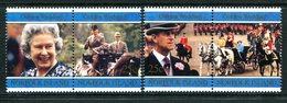 Norfolk Island 1997 Golden Wedding Of Queen Elizabeth II And Prince Philip Set MNH (SG 647-650) - Norfolk Island