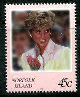 Norfolk Island 1998 Diana Princess Of Wales Commemoration MNH (SG 664) - Norfolk Island