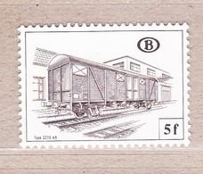1982 TR437** Zonder Scharnier.Goederenwagons. - Chemins De Fer