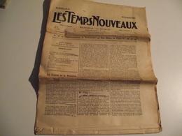 Les Temps Nouveaux, 16 Décembre 1905, Ex  Journal La Révolte - Kranten