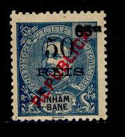 ! ! Inhambane - 1915 King Carlos Local Republica 50 R - Af. 88 - MH - Inhambane