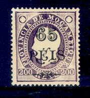 ! ! Mozambique - 1903 King Luis OVP 65 R - Af. 70 - No Gum - Mozambique