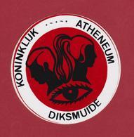 Sticker Autocollant Aufkleber Koninklijk Atheneum Diksmuide Adhesivo - Autocollants