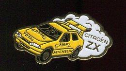 Pin's - Voiture Rallye Citroen ZX Camel Michelin - Citroën