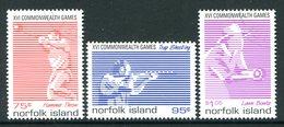 Norfolk Island 1998 Commonwealth Games, Kuala Lumpur Set Used (SG 679-681) - Norfolk Island