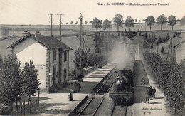 / Chézy Sur Marne - La Gare, Entrée Et Sortie Du Tunnel - Autres Communes