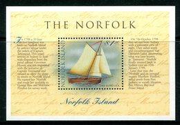 Norfolk Island 1998 Bicentenary Of The Circumnavigation Of Tasmania MS MNH (SG MS684) - Norfolk Island