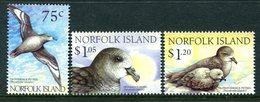 Norfolk Island 1999 Solander's Petrel Set MNH (SG 699-701) - Norfolk Island