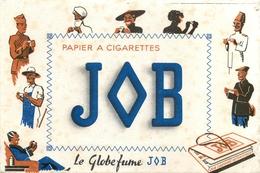 Buvard Ancien PAPIER A CIGARETTES JOB - Tabac & Cigarettes