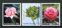 Norfolk Island 1999 Roses Set MNH (SG 703-705) - Norfolk Island