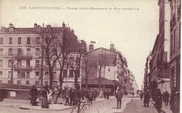 42 SAINT ETIENNE  COURS JOVIN BOUCHARD  RUE GAMBETTA TRES ANIMEE - Saint Etienne