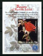 Norfolk Island 1999 Roses MS MNH (SG MS705) - Norfolk Island