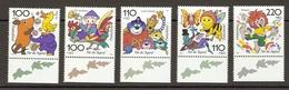 Allemagne Fédérale 1998 - Personnages De Dessins Animés - Surtaxe Jeunesse - Série Complète 1822/26 - MNH - BDF Illustre - Ungebraucht