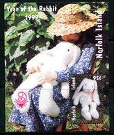 Norfolk Island 1999 China '99 - Year Of The Rabbit MS MNH (SG MS707) - Norfolk Island