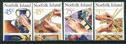 Norfolk Island 1999 Handicrafts Set MNH (SG 708-711) - Norfolk Island