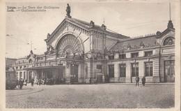 Carte Postale/Postkaart LUIK/LIEGE La Gare Des Guillemins - Guillemins Statie (A42) - Luik