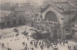 Carte Postale/Postkaart LUIK/LIEGE La Gare Des Guillemins - Guillemins Statie 1913 (A37) - Luik