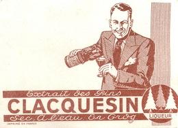 Buvard Ancien LIQUEUR DE PINS CLAQUESIN - Liqueur & Bière