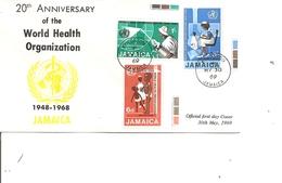 Santé ( FDC De Jamaique De 1969 à Voir) - Salud