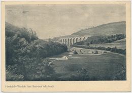 Himbächl-Viadukt Bei Kurhaus Marbach-Gestempelst: 1938 HILFSWERK MUTTER UND KIND - Trag Dazu Bei! Werde Mitglied Der NSV - Allemagne