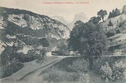 CPA - France - (74) Haute Savoie - Thônes - Tramway D'Annecy à Thônes - Le Louvetiére - Thônes
