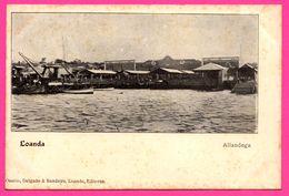 Angola - Loanda - Alfândega - Douane - Quai D'Embarquement - Bateau - Animée - Edit. OSORIO & BANDEIRA - Angola