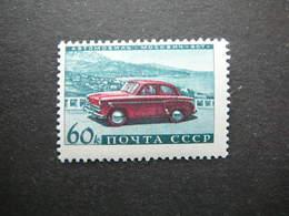 USSR Motor Industry # Russia Sowjetunion # 1960 MLH #Mi. 2401 Cars - 1923-1991 USSR