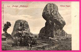 Angola - Pungo Andongo - Pedras Negras - Animée - Edit. OSORIO & SEABRA - Angola