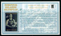 Norfolk Island 2000 Olymphilex 2000 Stamp Exhibition MS MNH (SG MS737) - Norfolk Island