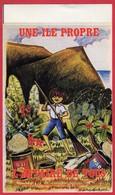 -- UNE ILE PROPRE L'AFFAIRE DE TOUS - Ile De La Réunion  - Autocollant -- - Stickers