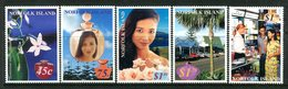 Norfolk Island 2001 Perfume Set MNH (SG 761-765) - Norfolk Island