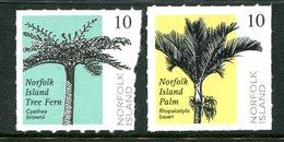 Norfolk Island 2004 Palm And Fern Set MNH (SG 888-889) - Norfolk Island