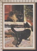 89422GF/ CHAT, CHATS, Illustrateur Wendy Stevenson - Chats