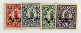 W-11941 Empire 1920 Mi.#129-32* Offers Welcome! - Alemania