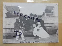17 CHATELAILLON 1912 FAMILLE BOURGEOISES AVEC ENFANTS - PHOTO - Châtelaillon-Plage