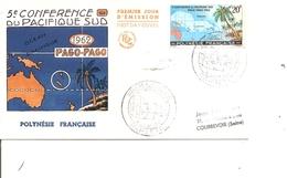 Polynésie - Conférence Du Pacifique Sud  ( FDC De 1962 à Voir) - FDC