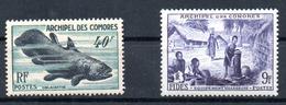 Comores (Archipel) Komoren Y&T 13** - 14** - Ungebraucht