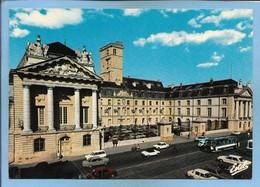 Dijon 21 Ancien Palais Des Ducs De Bourgogne Reconstruit Au 17e Et 18e S. Hardouin Mansart 2scans Voitures Autocar - Dijon