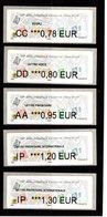 LISA **--EC 0.78--LV 0.80--LP 0.95--LPI EU 1.20--LPI MONDE 1.30 € --72° Salon Phila D'Automne 2018--PARIS - 2010-... Illustrated Franking Labels