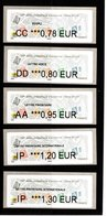 LISA **--EC 0.78--LV 0.80--LP 0.95--LPI EU 1.20--LPI MONDE 1.30 € --72° Salon Phila D'Automne 2018--PARIS - 2010-... Abgebildete Automatenmarke