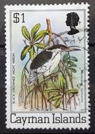 ISLAS CAIMÁN 1980 Flora & Fauna, DEFECTUOSO CON ROTURA. USADO - USED. - Caimán (Islas)