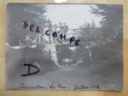 17 CHATELAILLON LE PARC 1910 FAMILLE BOURGEOISES AVEC ENFANTS - PHOTO - Châtelaillon-Plage
