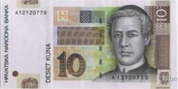 Croatie 10 Kuna (P38) 2001 -UNC- - Croacia