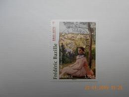 FRANCE 2017   YTN° 5122   FREDERIC  BAZILLE ( 1841-1870)    Timbre Neuf Oblitéré Cachet Rond - France