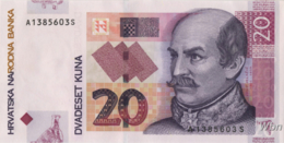 Croatie 20 Kuna (P39) 2012 -UNC- - Croatie